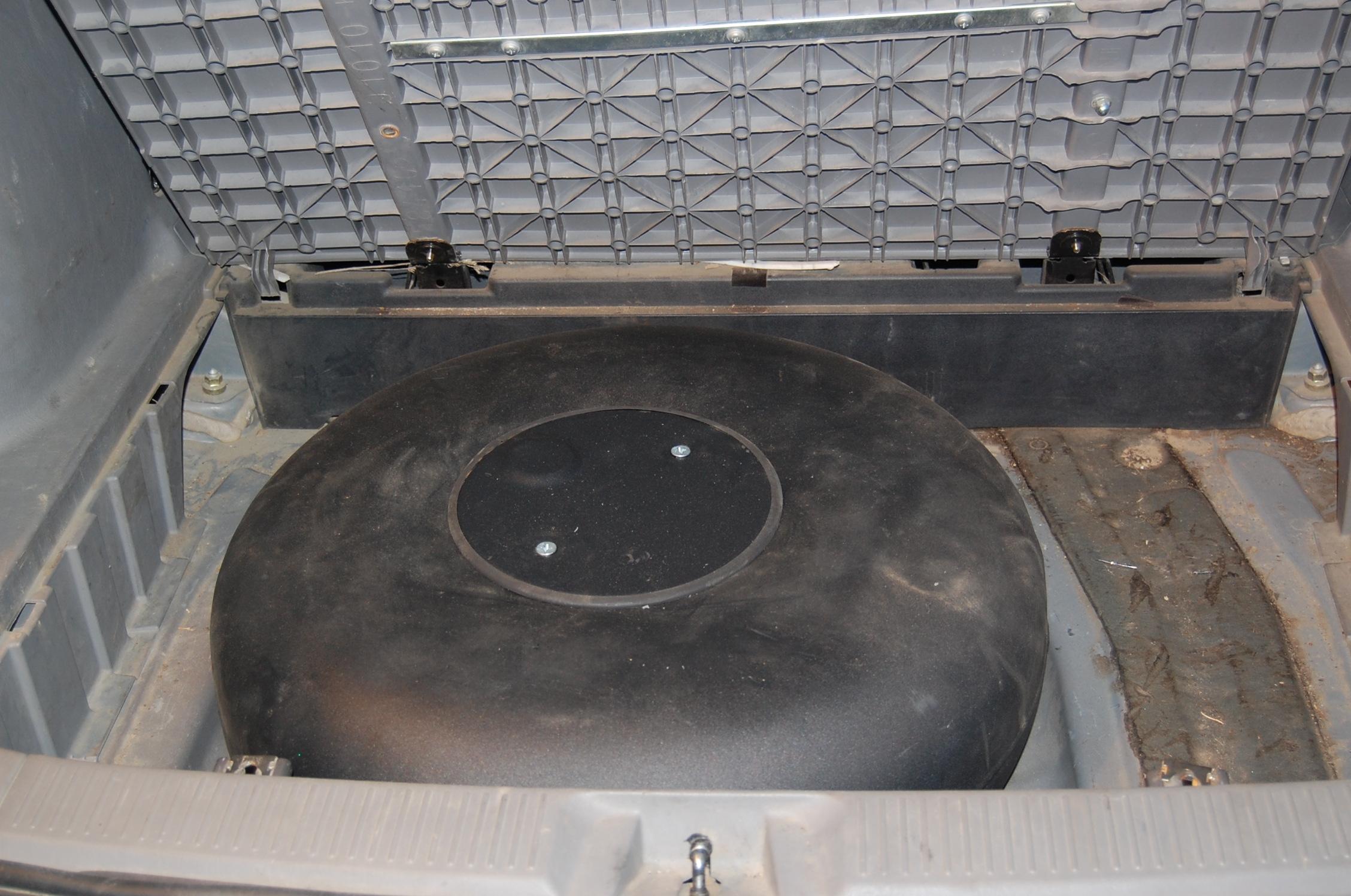 Установка газового баллона в багажнике на понтиаке